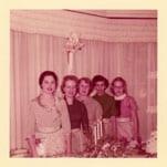 Scanning Photos DPI - Five Women image