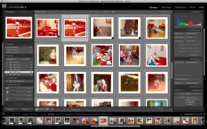 Adobe Lightroom Library View