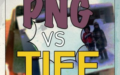 PNG vs TIFF — The Format That Won't Hurt Your Scanned Photos