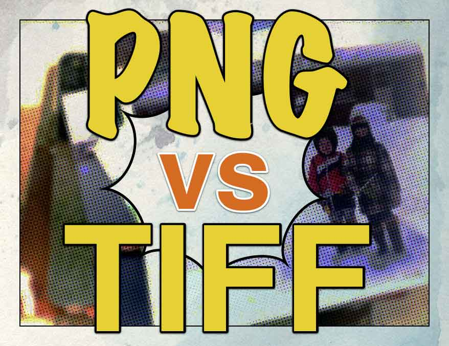 PNG vs TIFF - The Format That Won't Hurt Your Scanned Photos