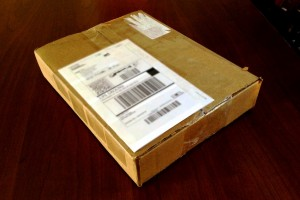 Package being sent to another scanning service