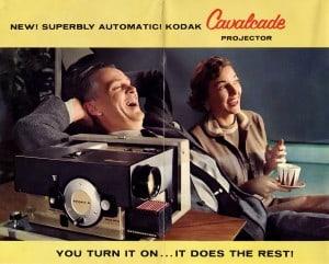 Kodak Cavalcade Slide Projector Brochure