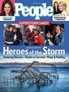 People magazine cover — November 19, 2012