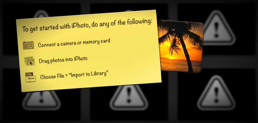 All My Pictures in iPhoto Disappeared! How to Safely Get Them Back