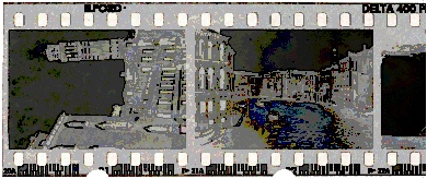 Illford Black & White Delta400 Film Strip
