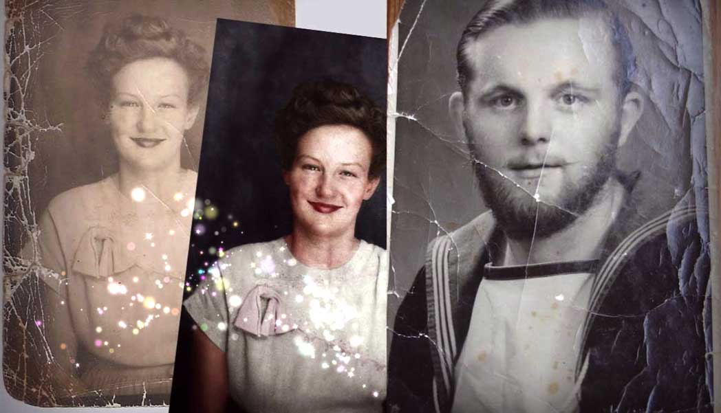 How Two Lucky Grandparents Were Given Free Restored Photo Treasures By This Internet Thing