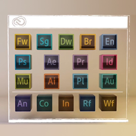 Entire Adobe Suite Icons