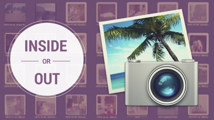 iPhoto Inside or Out Graphic for Featured Image