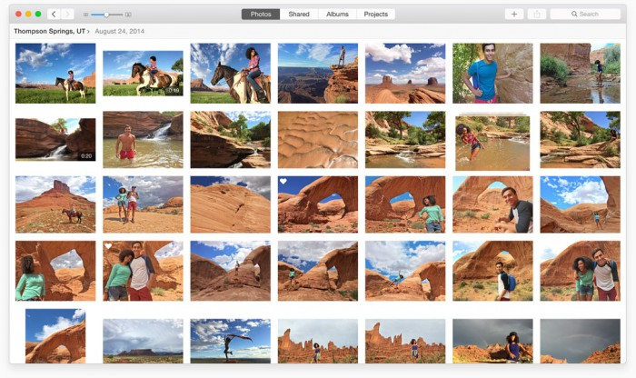 Photo view in Photos for Mac