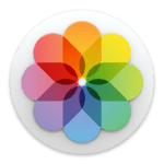 Colorful flower-looking graphic - Photos for macOS - Icon
