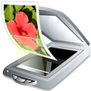 Graphic - scanner with lid open - Vuescan Scanner Software - Application icon