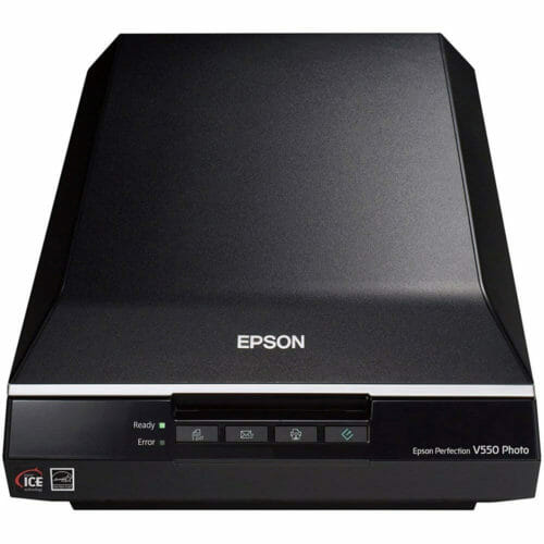 Epson Perfection V550 Photo Film and Document Scanner