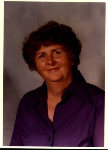 posed portrait of a lady - very dark exposure
